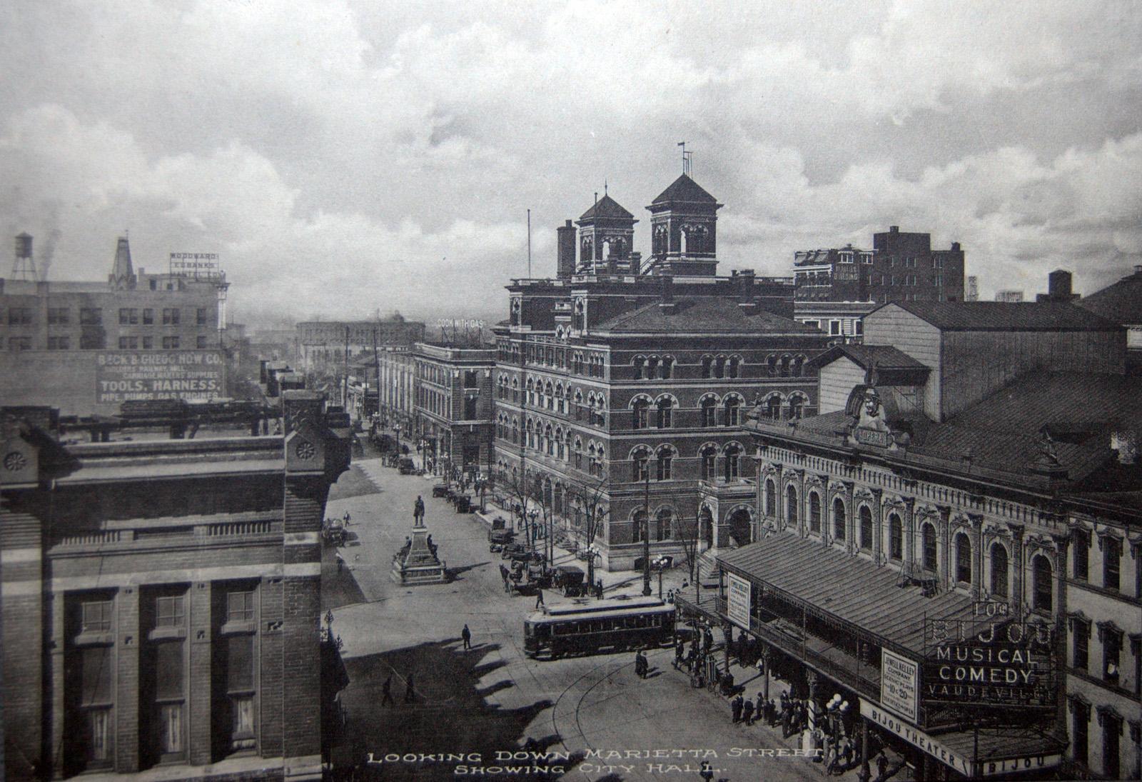 marietta st circa 1920