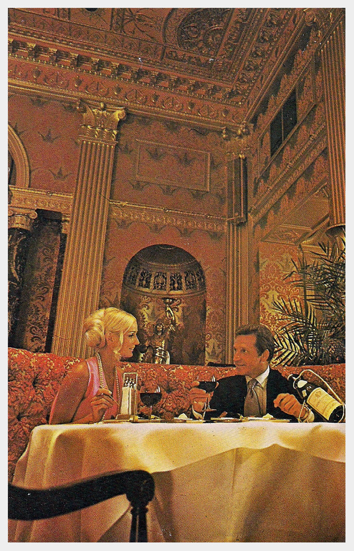 Sheraton biltmore hotel postcard for Dining room operations